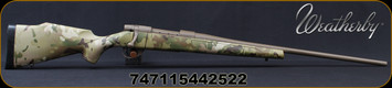 "Weatherby - 240WbyMag - Vanguard MultiCam - Bolt Action Rifle - MultiCam Camouflage Polymer Stock/Cerakote FDE Finish, 24""Threaded Barrel, 5 Round Hinged Floorplate, Mfg# VMC240WR4T"