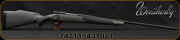 "Weatherby - 300WinMag - Vanguard Synthetic - Bolt Action Rifle - Grey Monte Carlo Griptonite Synthetic Stock w/Black Touch Panels/Matte Blued Finish, 26""Barrel #2 Contour, 4 Round Hinged Floorplate, Mfg# VGT300NR6O"