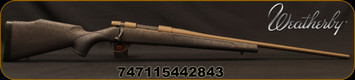 "Weatherby - 223Rem - Vanguard Weatherguard Bronze - Black Base Polymer Stock w/Bronze Webbing/Burnt Bronze Cerakote, 24""Threaded #2 Contour Barrel, Mfg# VWB223RR4T"