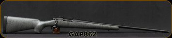 "Consign - GA Precision - 300WSM - Non-Typical- Templar Action - Grey w/Black Web Bell and Carlson GAP Sporter stock/25"" Bartlein Stainless 5R barrel - #3 contour, threaded, Black Cerakote, c/w Picatinny Rail, Vais muzzle brake"
