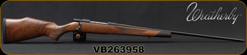 "Weatherby - 6.5-300WbyMag - Vanguard Sporter - Walnut Monte Carlo Stock/Matte Blued, 26""#2 Contour barrel, Mfg# VDT653WR6O, S/N VB263958"