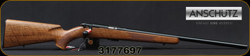 "Anschutz - 22LR - 1710 HB Walnut Classic - Walnut Monte Carlo Stock/Blued, 23""Heavy Barrel, 5109 two-stage trigger, Mfg# 013297, S/N 3177697"