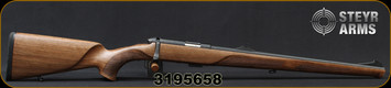 "Steyr - 22LR - Zephyr II - Bolt Action Rimfire Rifle - Walnut Full Stock/Mannox Plasma Nitrated Finish, 19.7"" Barrel, 5round detachable magazine, Mfg# 70.051.1B2, S/N 3195658"