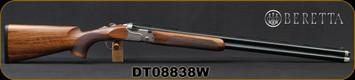 """Beretta - 12Ga/3""""/30"""" - DT11 Trident Sport - LH - O/U - High Grade Walnut Stock/Blued, Premium-grade Steelium-Pro barrels, 10x8 Rib, OCHP, Mfg# 5X16482600301, S/N DT08838W"""