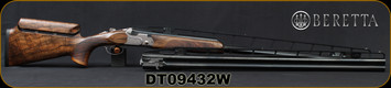 "Beretta - 12Ga/3""/32""&34"" - DT11 Trident x Trap Bottom Single Combo - LH - High Grade Walnut Stock w//Blued, Premium-grade Steelium-Pro barrels, OCHP , Mfg# 5XW65T2D00501, S/N DT09432W"