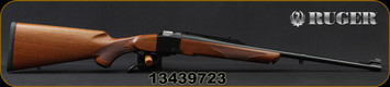 "Ruger - 222Rem - No.1A Light Sporter - Single Shot - Walnut Stock/Blued, 22""Barrel, Mfg# 11377, S/N 13439723"