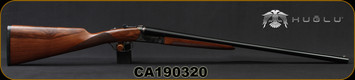"Huglu - 20Ga/3""/26"" - 202B - SxS - Turkish Walnut English Stock/Case Hardened Receiver/Blued Barrel, Mobile Chokes, SKU# 8681715394817, S/N CA190320"