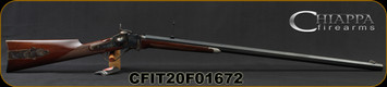 "Chiappa - 45-70Govt - Model 1874 Sharps Down Under - Single Shot Rifle - American Walnut Stock/Blued, 34""Octagonal Barrel, Mfg# 920.028, S/N CFIT20F01672"
