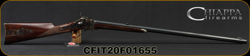 "Chiappa - 45-70Govt - Model 1874 Sharps Sporting Rifle - Falling Block Rifle - American Walnut Stock/Case Hardened/Blued, 32""Octagon Barrel, Double Set Trigger, Mfg# 920.025, S/N CFIT20F01655"