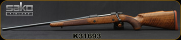 "Sako - 25-06Rem - Model 85M Hunter - LH - Bolt Action Rifle - Walnut Stock/Blued, 22.4""Barrel, 1:10""Twist, 5rd Detachable Magazine, Single Stage Trigger, Mfg# SAW17H61C, S/N K31693"