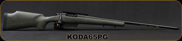 "Kelbly's Inc - 6.5PRC - Koda - Green w/Blk Web Grayboe stock/Atlas Tactical action/Black Nitride Finish, Krieger match grade stainless steel, 26""Threaded(1/2-28) #4 Heavy Sporter Barrel, Magpul 5rd magazine, Mfg# KODA-65P-G"