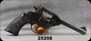 "Consign - Webley - 38cal - Mark IV - Revolver - Black Grips/Blued, 5""Barrel"