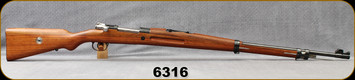 "Consign - Mauser - 7x57 - Model 1935 Brazilian Contract - Wood Full Stock/Blued, 30""Barrel - New, Unissued, all numbers matching - Unfired"