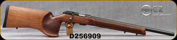 "CZ - 22LR - Model 457 Varmint MTR - Bolt Action Rimfire Rifle - Turkish Walnut/Blued, 20.67""Threaded(1/2x20)Barrel, 5rd Detachable Magazine, Mfg# 5084-8591-VKAMEAX, S/N D256909"