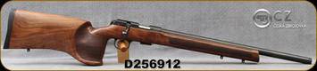 "CZ - 22LR - Model 457 Varmint MTR - Bolt Action Rimfire Rifle - Turkish Walnut/Blued, 20.67""Threaded(1/2x20)Barrel, 5rd Detachable Magazine, Mfg# 5084-8591-VKAMEAX, S/N D256912"