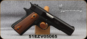 "Consign - Browning - 22LR - 1911-22 - Semi-Auto - Checkered wood grips/Blued, 4.25""Barrel, 2 magazines, new holster - in non-original case"