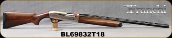 "Franchi - 12Ga/3""/28"" - Affinity 3 - 150th Anniversary - Semi-Auto Shotgun - AAA Grade Satin Walnut/Silver Engraved Reciever/Blued Barrel, 4+1 Capacity, Mfg# 41001, S/N BL69832T18"