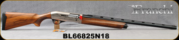 "Franchi - 12Ga/3""/28"" - Affinity 3 - 150th Anniversary - Semi-Auto Shotgun - AAA Grade Satin Walnut/Silver Engraved Reciever/Blued Barrel, 4+1 Capacity, Mfg# 41001, S/N BL66825N18"