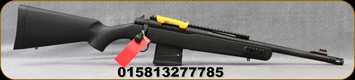 "Mossberg - 7.62NATO/308Win - MVP Scout Rifle - Bolt Action Rifle - Black Synthetic/Blued, 16.25""Threaded Med.Bull Barrel, Extended Picatinny Rail w/Ghost Ring, Mfg# 27778"