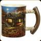 River's Edge - 3D Deluxe Ceramic Mug - Cabin Scene - 15oz - 2435