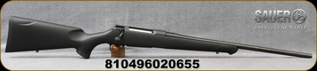 "Sauer - 30-06Sprg - S100 Classic XT - Bolt Action Rifle - Black Synthetic ERGO MAX Stock/Blued, 22""Barrel, 5 Round Detachable Magazine, Mfg# S1S306"