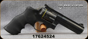 """Used - Ruger - 357 Mag- GP100 Double Action Revolver - Black Hogue Monogrip/Blued, 4.2"""" Barrel - 6rd - Mfg# 01702, only 40 rounds fired - In original case"""