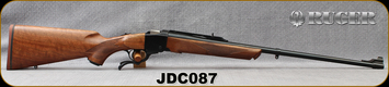 "Ruger - 280AI - No.1 Joe D.Clayton - Single Shot Rifle - Upgraded Walnut/Blued, 25""Barrel, Mfg# 21329, S/N JDC087"