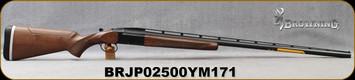 "Browning - 12Ga/2.75""/34"" - BT-99 Adjustable B&C - Single Barrel Trap Shotgun - Extractor - Grade I Satin Finish Black Walnut/Blued, High-post ventilated, floating rib, Mfg# 017081401, S/N BRJP02500YM171"