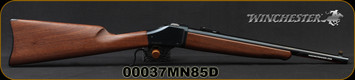 """Winchester - 45-70Govt - Model 1885 High Wall Trapper Limited Series - Lever Action - Satin-Finish Walnut Stock/Blued, 16.5""""Barrel, Ladder Style Adjustable Rear Sight, Mfg# 534146142, S/N 00037MN85D"""