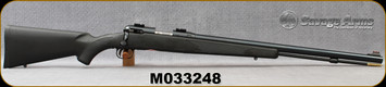 """Consign - Savage - 50Cal - Model 10ML-II - Muzzle Loader - Black Synthetic/Blued, 24""""Barrel, Accutrigger, c/w bases"""