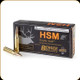 HSM - 300 H&H - 185 Gr - Trophy Gold - Berger Hollow Point Boat Tail - 20ct