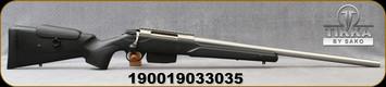 "Tikka - 300Win - T3x Super Varmint - Black Modular Stock w/Adjustable Cheek piece/Stainless, 23.7""Barrel, Picatinny rail, 5 round detachable magazine, Mfg# TFTT33XLP05"