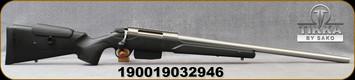 "Tikka - 22-250Rem - T3x Super Varmint - Black Modular Stock w/Adjustable Cheek piece/Stainless, 23.7""Barrel, Picatinny rail, 5 round detachable magazine, Mfg# TFTT13XLP05"
