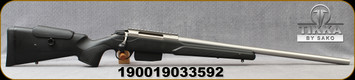 "Tikka - 243Win - T3x Super Varmint - Black Modular Stock w/Adjustable Cheek piece/Stainless, 23.7""Barrel, Picatinny rail, 5 round detachable magazine, Mfg# TFTT15XLP05"