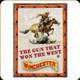"River's Edge - Winchester ""Gun That Won the West"" - Metal Tin Sign - 12""x17"" - W1023"