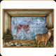 """River's Edge - Deer - Picture Frame - 4""""x6"""" - 517"""
