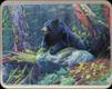"River's Edge - Bear - Tempered Glass Cutting Board - 12""x16"" - 784B"