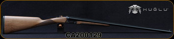 "Huglu - 28Ga/2.75""/28"" - 200A Mini - SxS Single Trigger - Grade AA Turkish Walnut/Case Hardened Receiver/Chrome-Lined  Barrels, 5pc. Mobile Choke, SKU# 8681715398150-2, S/N CA200129"