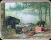 "River's Edge - Bear - Tempered Glass Cutting Board - 12""x16"" - 784F"