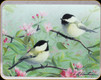 "River's Edge - Bird - Tempered Glass Cutting Board - 12""x16"" - 785E"