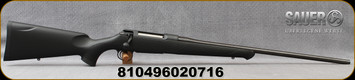 "Sauer - 300WM - S100 Classic XT - Bolt Action Rifle - Black Synthetic ERGO MAX Stock/Blued, 24.4"" Barrel, 4 Round Detachable Magazine, Adjustable Trigger, Mfg# S1S300"