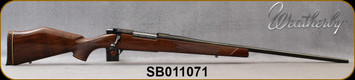 """Consign - Weatherby - 300WbyMag - Mark V Deluxe - Gloss Walnut/Blued, 26""""Barrel"""