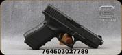 "Glock - 9mm - Model 19 Gen4 - Canadian Edition - Black Finish w/Engraved Maple on Slide, Modular BackStraps, 4.17""Barrel, Night Sights, 3 Magazines, Mfg# UG195X706N"