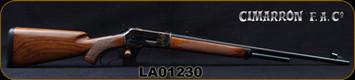 "Cimarron - Pedersoli - 45-70Govt - Model 71 Premium - Lever Action Rifle - Walnut Stock/Case Hardened Steel Frame/Standard Blued Finish, 24""Round Barrel, Mfg# SH903, S/N LA01230"