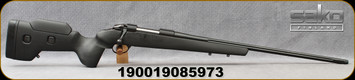 "Sako - 260Rem - 85 Carbon Wolf - Black Composite/24.3"" - No Sights, Single Stage Trigger, Detachable Mag - SAV6115A2037D0"