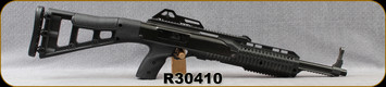 """Consign - Hi-Point - 45ACP - Model 4595 Carbine - Black All-weather, polymer skeletonized stock/Blued, 17.5""""barrel, 9rd magazine (interchangeable with JHP) - Restricted - Only 120 rounds fired"""