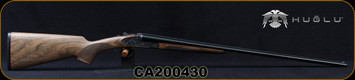 "Huglu - 410Ga/3""/28"" -200AC Mini - SxS Single Trigger - Grade AA Turkish Walnut/Case Hardened Receiver w/Gr5 Hand Engraving/Chrome-Lined Barrels, Fixed Choke (F,IM) Sku: 8682109403771-2, S/N CA200430"