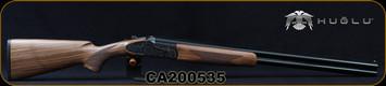 "Huglu - 12Ga/3""/28"" - 103FE - O/U w/Ejectors - Grade AA Turkish Walnut w/Schnabel Forend/Case Hardened Receiver w/ Gr5 Hand engraving/Chrome-Lined, Vent Rib Barrels, SKU# 8681715391229-2, S/N CA200535"