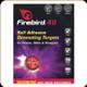 Firebird - 40 - Self Adhesive Detonating Targets - for Pistols, Rifles & Shotguns - 10pk