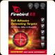Firebird - 65 - Self Adhesive Detonating Targets - for Pistols, Rifles & Shotguns - 10pk